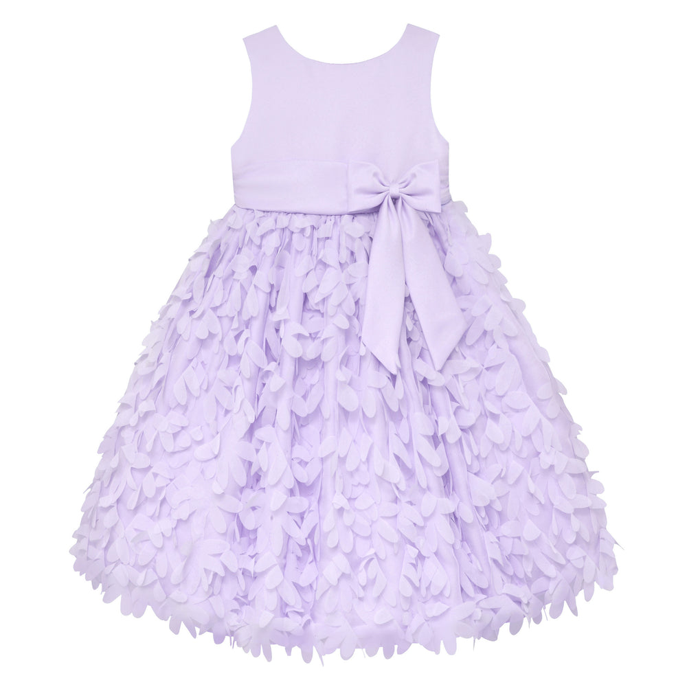 Paparazzi Dress in Lilac with Petal Bottom