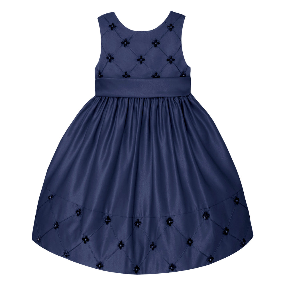 Holiday Blue Designer Dress