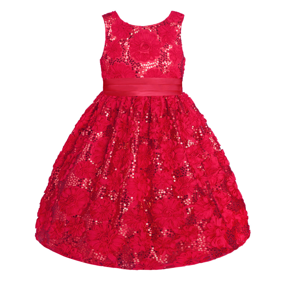 Holiday Red Ruffle