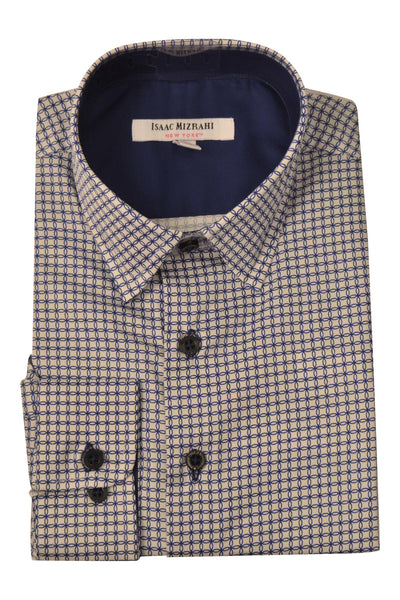 Designer White and Blue Dress Shirts