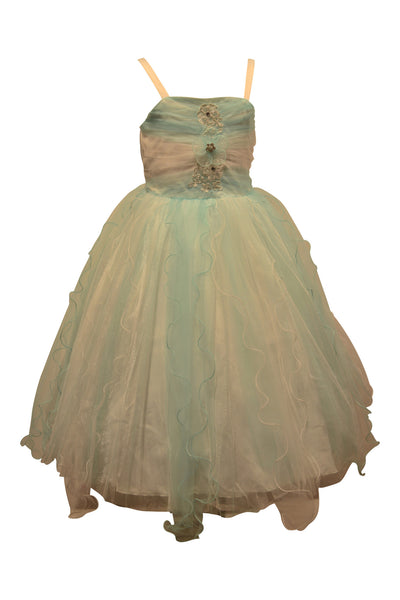 Paparazzi Dress in White and Mint