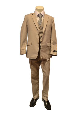 Ronaldo Tan Khakie  5 pcs Suit