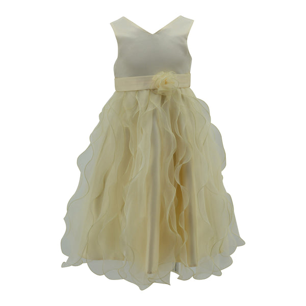 Paparazzi Ivory Layered Dress