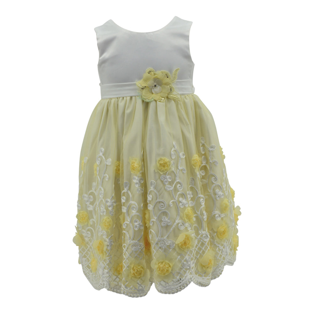 Paparazzi Yellow Flower Dress
