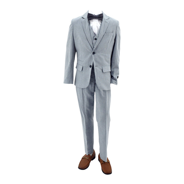 Paparazzi  Slate Blue Strip 3 pc Suit