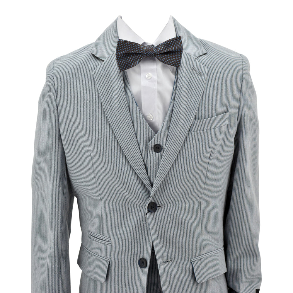 Paparazzi Grey Pinstripe 3 pc Suit