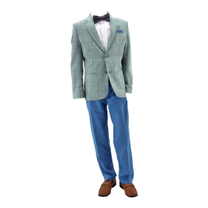 Paparazzi Green & Blue 2 Piece Suit