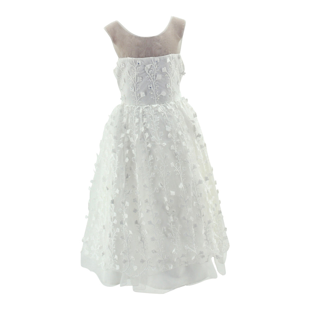 Paparazzi Ivory Flower Dress