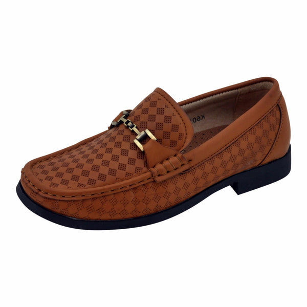 Boys Classic Tan Loafers