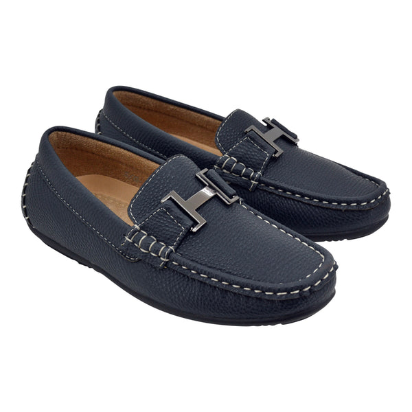 Boys Blue H  Loafers