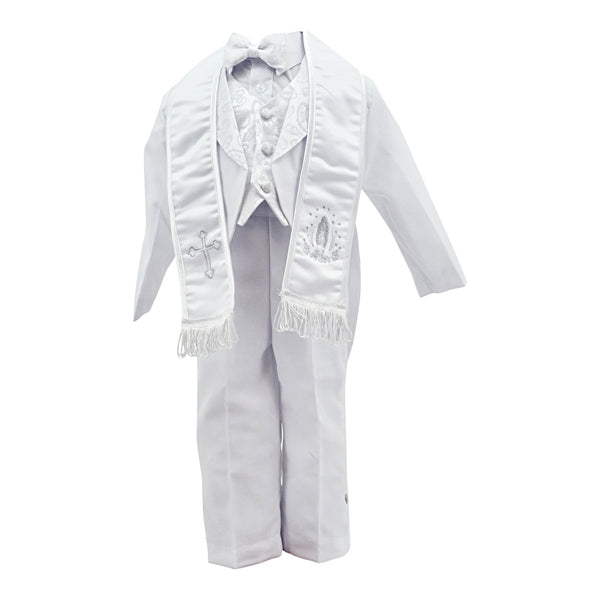 Designer Tuxedo with Tail And Sash Christening