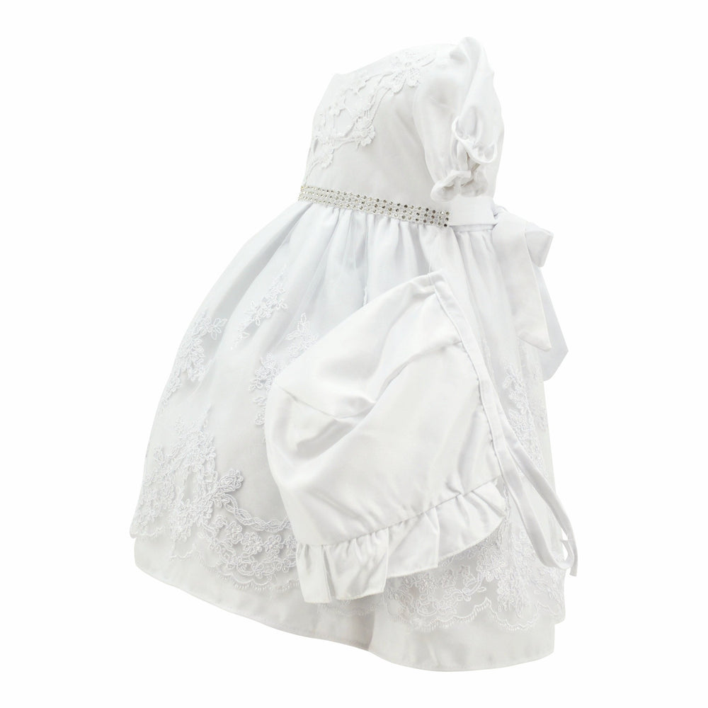 Baby Girls Paparazzi Christening Dress