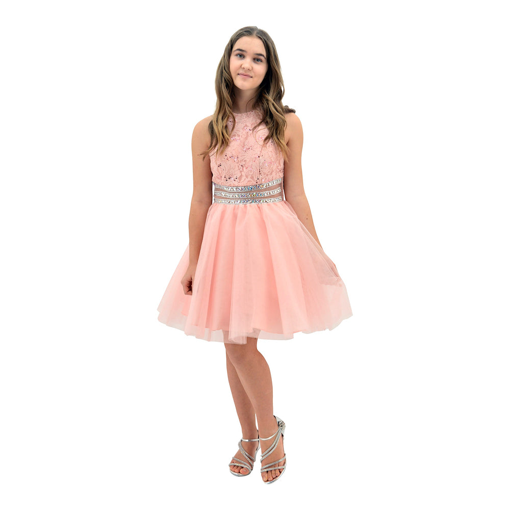 Paparazzi Cotoure Peach Grad Dress