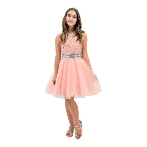 bccf67b0895 Paparazzi Cotoure Peach Grad Dress Paparazzi Cotoure Peach Grad Dress