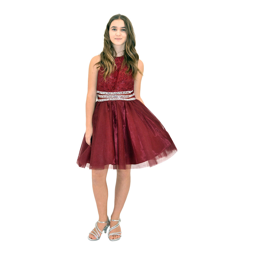 Paparazzi Cotoure Burgundy Grad Dress