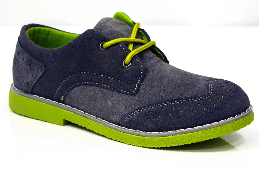 AXNY Suede Wingtip Oxford (Little Kid & Big Kid)