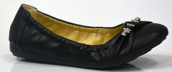 Girls Leather Flats