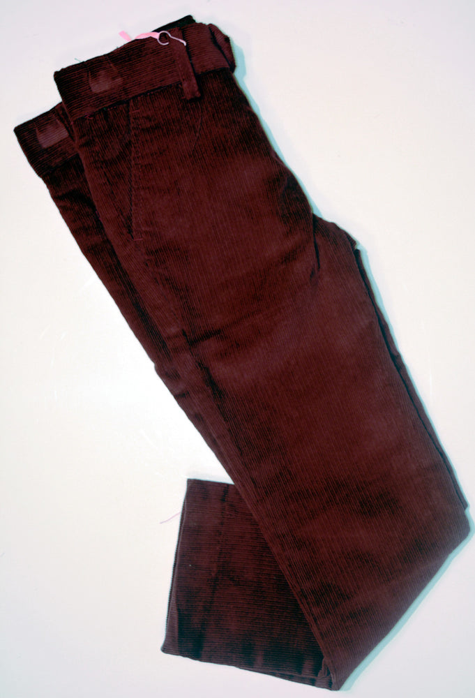 Boys Slim Fit Corduroy Pant