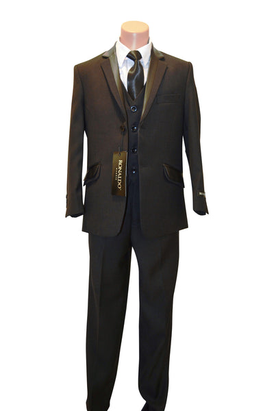 Ronaldo Harrybone Tweed 5 pc Suit
