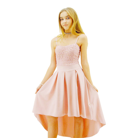 Paparazzi Couture design dress in Soft Pink Lace