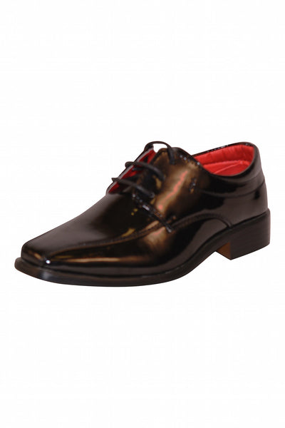 Boys Pattent Leather Shoes