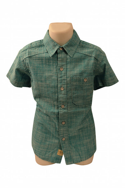 Boys Linen Short Sleeve Shirt