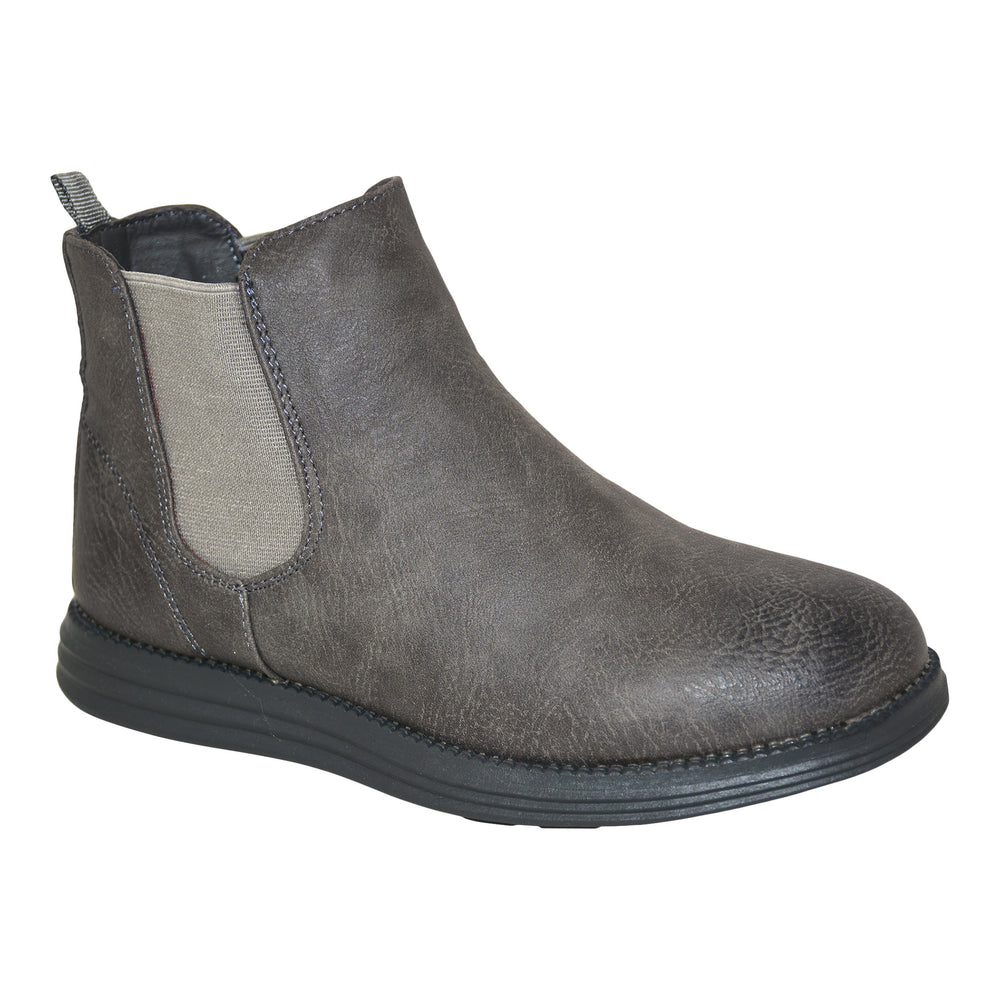 Boys  Grey Desert Boots