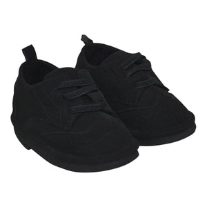 Boys Baby Black Oxford Shoes