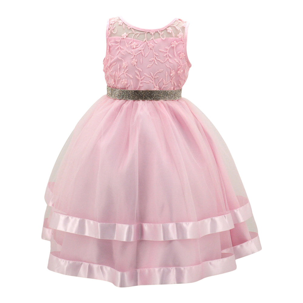 Paparazzi Diamond Dress in Baby Pink