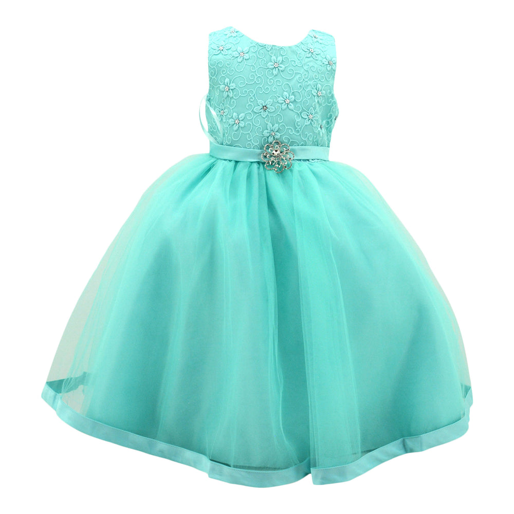 Paparazzi Diamond Dress in Aqua Green