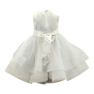 Baby Dress in Candlelight Cream