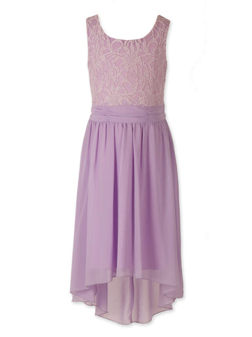 Designer Sequence Dress in Lilac
