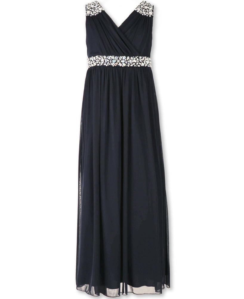 Paparazzi Designer Sequence Dress in Princess Blue