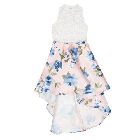 Paparazzi Cotoure Dress White Spring Floral