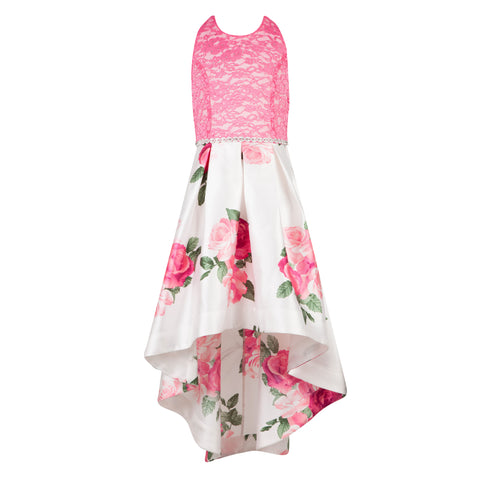 Paparazzi Cotoure Dress Pink Spring Floral
