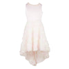 Paparazzi Cotoure Dress Soft Peach Hi Low