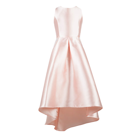 Paparazzi Cotoure Dress Simple Peach Satin