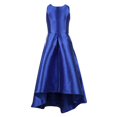 Paparazzi Cotoure Dress Simple Navy Satin