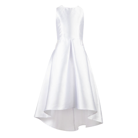 Paparazzi Cotoure Dress Simple White Satin