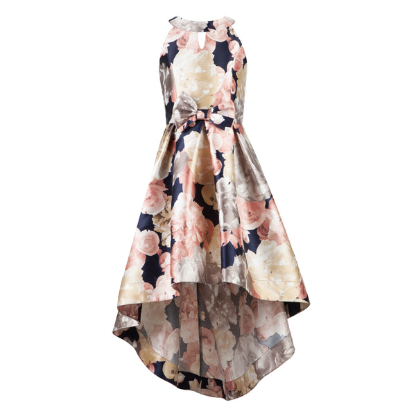 Paparazzi Cotoure Dress Pink & Black Floral