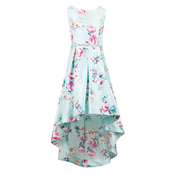 Paparazzi Cotoure Dress Pink & Mint Floral