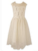 Designer Sequence Dress Ivory