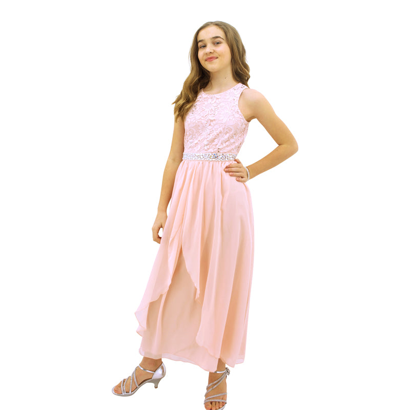 Paparazzi Designer Sequence Blush Pink Dress