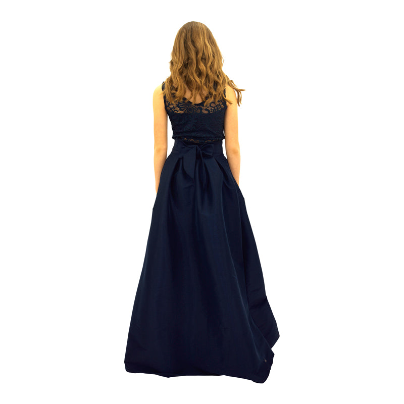 Midnight Blue Couture Sequins Gown