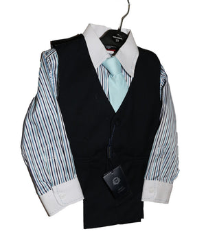 Boys 4 pc Vest Set