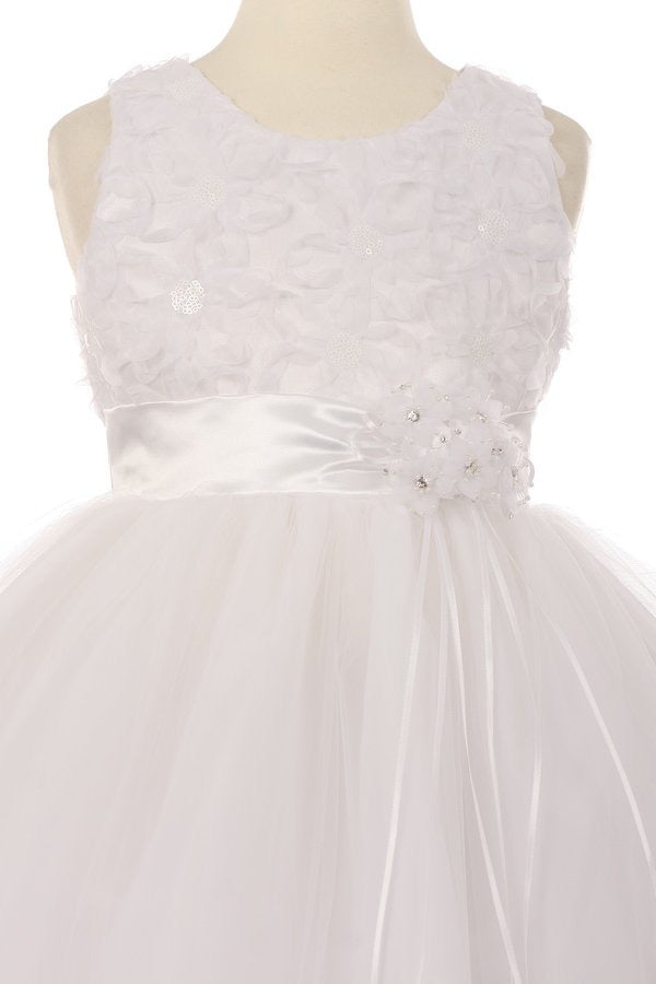 Paparazzi White Lace Communion Dress