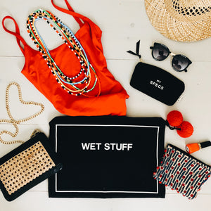 5/pcs Wet Stuff Black Beach Pouch
