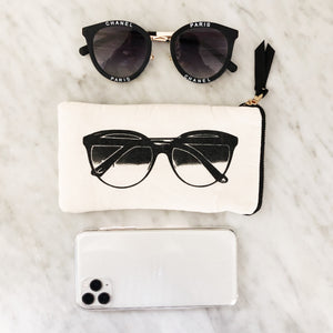 5/pcs Sunglasses Case With Pocket