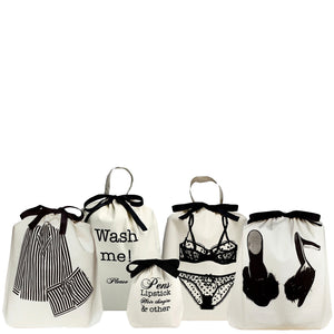5/pcs Women's Weekend Getaway Bags