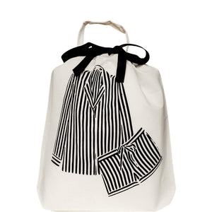5/pcs Striped Pajamas Bag